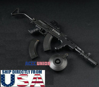 """1/6 Scale AK47 Tactical Gun Toys Weapon Models B For 12"""" Soldier Figure U.S.A."""
