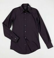 DG dolce gabbana camicia uomo usato M slim man shirt used manica lunga T5196