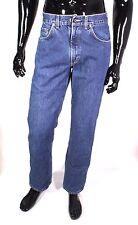 GJ6-25 Mustang Nevada Herren Jeans Hose blau W33 L32 tapered leg Used Look