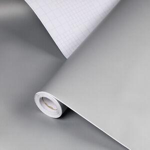 Matt Pure Solid Color Peel & Stick Wallpaper  Bedroom Home Decor Contact Paper