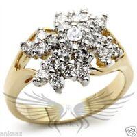Elegant Cocktail AAA Cubic Zircon CZ Engagement Wedding Ring 5 6 9 2W021