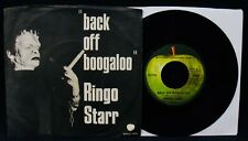 RINGO STARR-Back Off Boogaloo & Blindman-Picture Sleeve & 45-APPLE-THE BEATLES