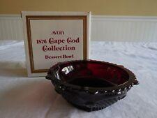 Vintage Avon 1876 Cape Cod Collection Dessert Bowl Nib