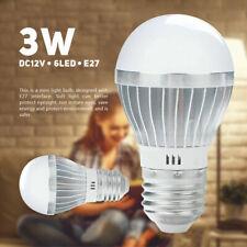 12V E27 LED 3W 5730SMD Aluminum Super Bright Energy Saving Light Led Light Bulb