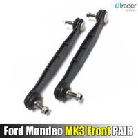 FORD MONDEO MK3 FRONT STABILISER ANTI ROLL BAR DROP LINK LINKS 2000-2007 NEW X2