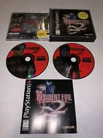 Resident Evil 2: Dual Shock Sony PlayStation 1/PS2 CIB COMPLETE!*Vry Nice Discs*