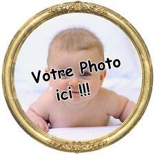 Votre Photo Personalise Decoration Gateau Disque Azyme Comestible Anniversaire
