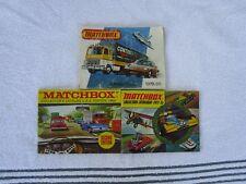 3 MATCHBOX  COLLECTOR CATALOGUE'S~[ 1969+1973+1979-80!!!!]