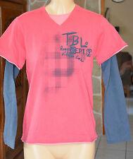TIMBERLAND  -Très jolitee-shirt rose - Taille 12 ans 152 cms - EXCELLENT ÉTAT