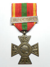E15A) Belle médaille combattant volontaire INDOCHINE FRENCH MEDAL