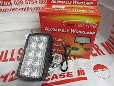 Alexmills LED réglable Worklamp 12-28v DualFit lumière John Deere MASSEY CASE IH