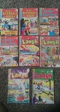 Lot of eight Archie-related comic books