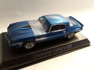 Chevrolet Camaro Z28 * blau * 1:43 Norev 900016