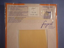 Fogal Style 117 Montego Bay Sheer to Waist Pantyhose Size Large in Melon