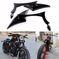 Black Motorcycle Rearview Scooter Mirrors For Suzuki VICTORY HYOSUNG TAOTAO 50CC
