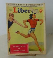 Liberty Oct 24, 1936 Hubbell Reed Cover