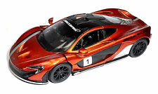 Nuevo: 2013 mclaren p1 modelo de coleccionista 1:36 metalizado Orange mercancía nueva de Kinsmart