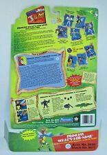 Earth Worm Jim PRINCESS WHAT'S-HER-NAME Card and Bug Launcher by Playmates