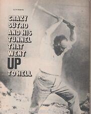 Adolph Sutro's Tunnell - Coyote Hole+Aron,Bluett,Herbert,Norcross