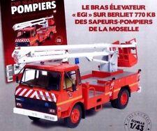"Camión De bomberos Brazos ascensor ""EGI"" Berliet 770 KB 1/43 Nuevo fire truck"