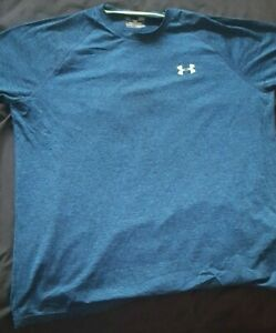 Under Armour Blue Large Mens T-Shirt