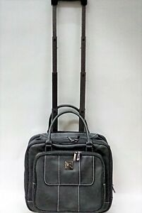 "Kenneth Cole Women's 'Casual Fling' Pebbled Faux Leather 16"" Laptop Carry On Bag"
