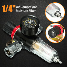 14 Air Compressor Pressure Gauge Oil Water Regulator Filter Moisture Trap