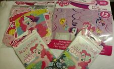 My Little Pony Amazing Party Set Banner Decorations Invitations Thank You Bronie