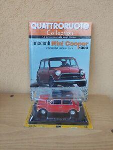 Innocenti Mini Cooper MK3 1300 1/24 Quattroruote Collection + Fascicolo