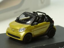Busch Smart Fortwo Cabrio, black to yellow,  PC 284 - 1:87