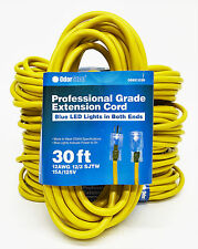 OdorStop OSEC1230 - 30' Yellow 12/3 SJTW Professional Grade Extension Cord with