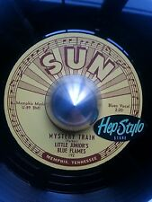 LITTLE JUNIORS BLUE FLAMES 45 RE- LOVE MY BABY/MYSTERY TRAIN - 1953 SUN CLASSICS