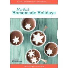 DVD - Educational - Martha's Homemade Holidays - Martha Stewart Living Omnimedia