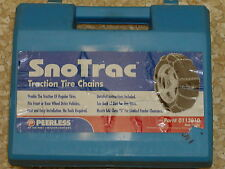 TIRE/SNOW CHAINS, PEERLESS  #0113010, 205/40-17, 205/45-17, 195/70-15, 215/40-17