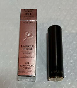 Lancôme L'absolu Rouge 391 Exotic Orchid Cream Lipstick, Full Size, New In Box