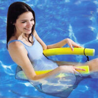 Noodlechair Swimming Pool Toy U-Seat Chair Float Inflatable Nylon Fabric Covered