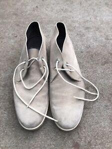 Salvatore Ferragamo Suede Chukka Boots 10.5 Men