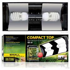 Exo Terra Compact Top for Vivariums - Small 45 x 9 x 20 cm