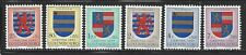 LUXEMBOURG - B198 - B215 - MNH/MH - 1957-1959 - COATS OF ARMS