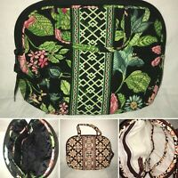VERA BRADLEY Purse Cosmetic Makeup Case - Multiple Patterns Available - 9 x 7