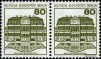 Berlin (West) 674A waagerechtes Paar postfrisch 1982 Burgen und Schlösser