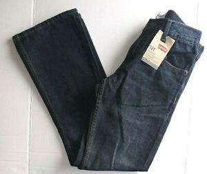 Boys Levi's 527 Regular Fit Jeans Boot Cut Size 14 Regular 27x27 NWT