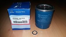 New Genuine (OE) Hyundai Petrol Oil Filter For i10 & i20 1.0,1.1,1.2 2630002751