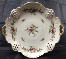 Vintage  Rosenthal Classic Moliere / Moss Rose Serving Platter 11""