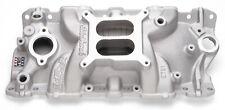 Edelbrock 2701 Intake Manifold Rear Silver