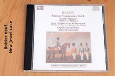 Haydn - Célèbres Symphonies 100, 82 & 96 Militaire Ours Miracle - CD Naxos
