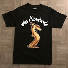 The Hundreds Acme Looney Tunes Wile Coyote Black Shirt Crew Neck Size Small #13