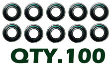 Qty (100) LOT 6205 2RS Ball Bearing 25x52x15 Dual Seal REPLACES 6205-2RS 62052RS