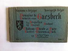 Domaine de GAESBEEK CHATEAU Carnet 10 Cartes Postales Photos XXème