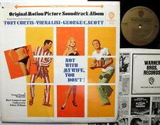 non avec My Wife, You Don'T LP BANDE ORIGINALE JOHNNY WILLIAMS 1966